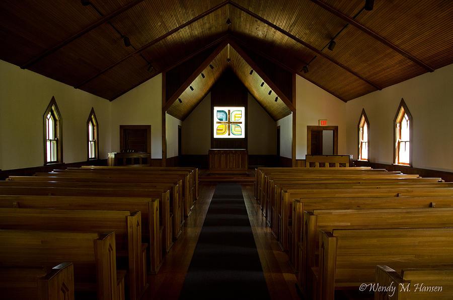 Country Church Interior Photograph By Wendy Hansen Penman