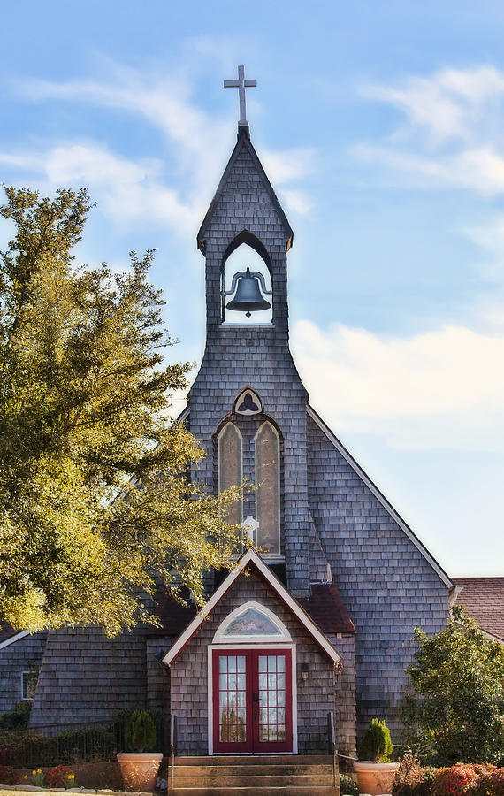 Church Photograph - Country Church by Joan Bertucci