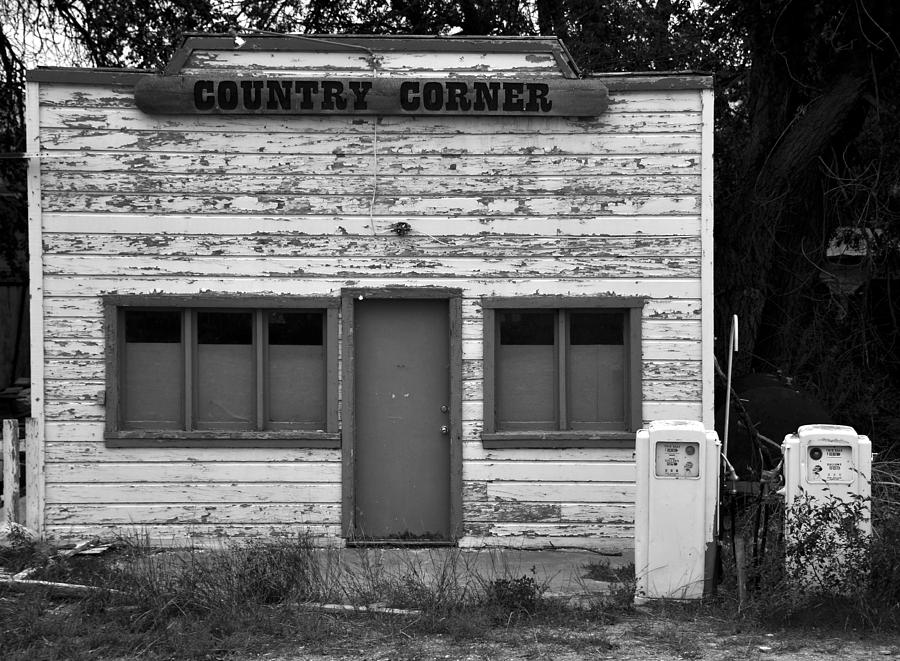 Old Photograph - Country Corner by David Lee Thompson