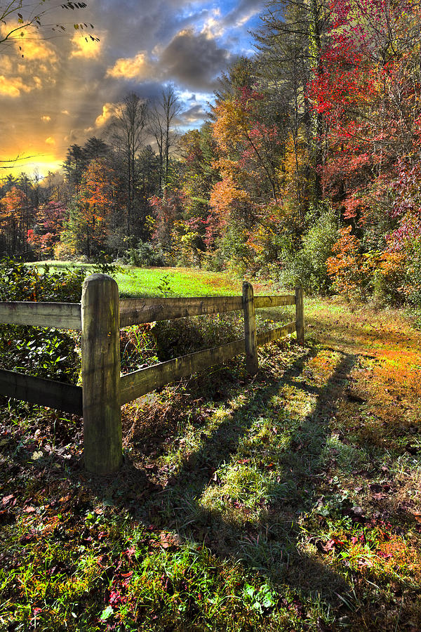 Appalachia Photograph - Country Dawn by Debra and Dave Vanderlaan