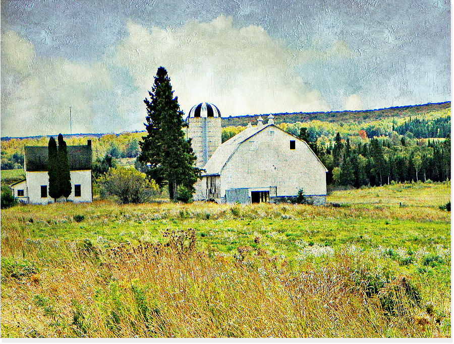 Country Farm Photograph by Dianne  Lacourciere