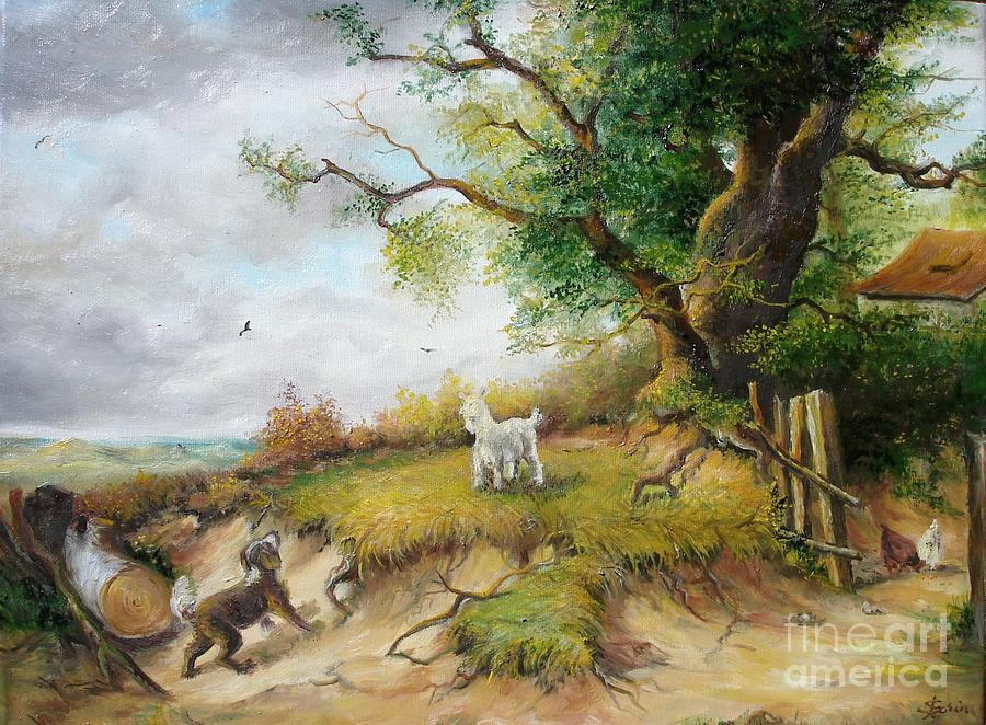 Country Life Painting By Sorin Apostolescu