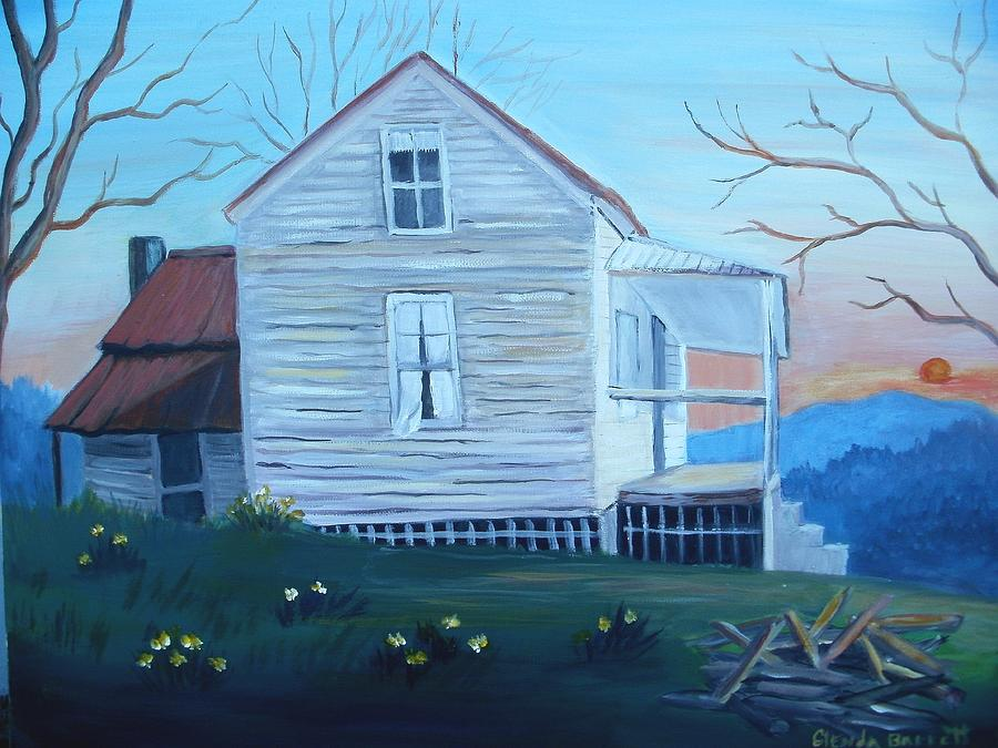 Original Painting - Country Living by Glenda Barrett