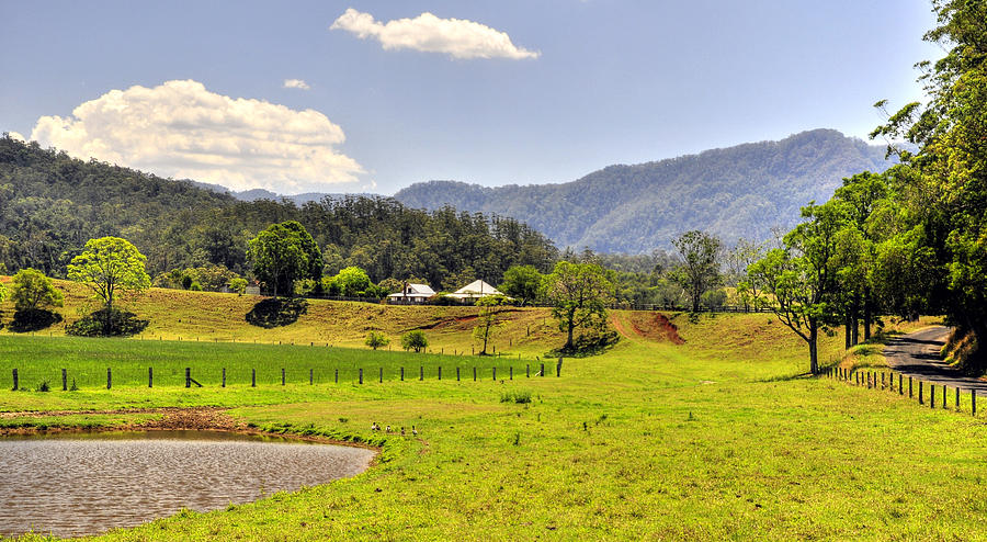 Landscape Photograph - Country Living by Terry Everson