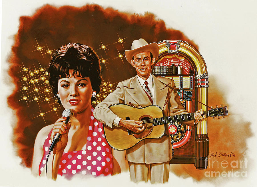 Music Painting - Country Magic by Dick Bobnick