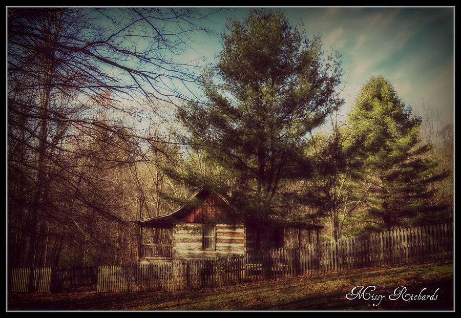Cabin Photograph - Country Paradise by Missy Richards