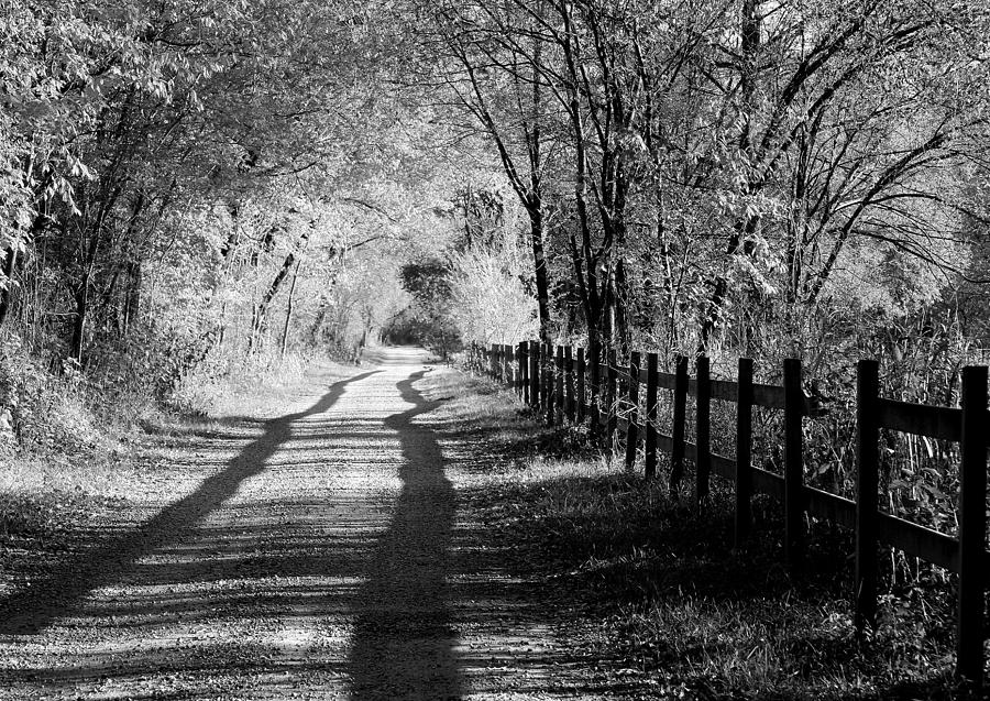 Country road photograph country road black and white by anne barkley