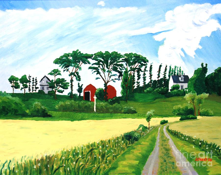 Country road by Janice Best
