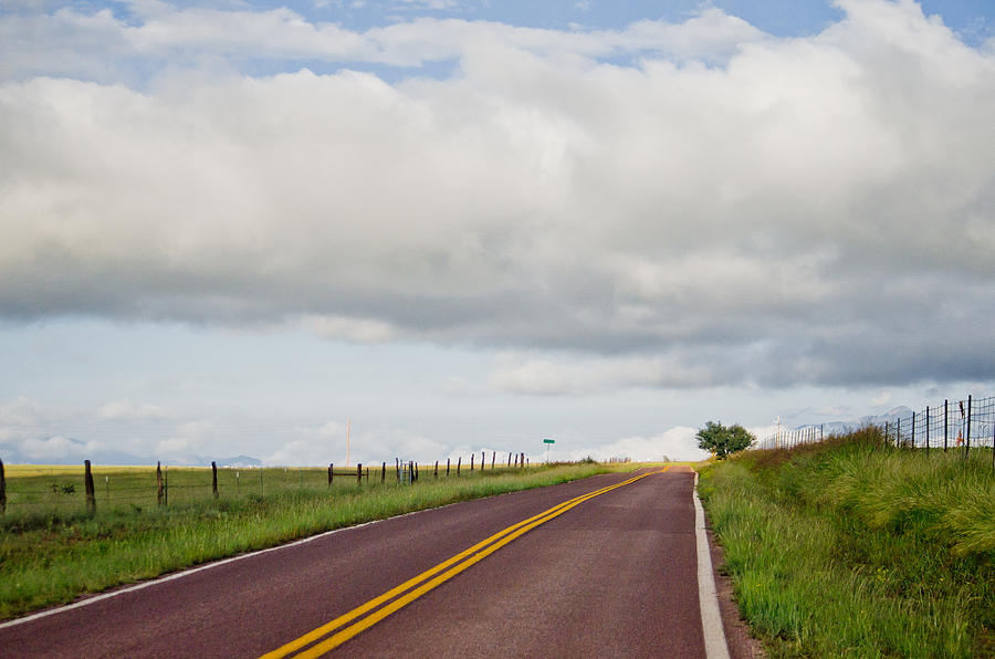 Road Photograph - Country Road by Swift Family