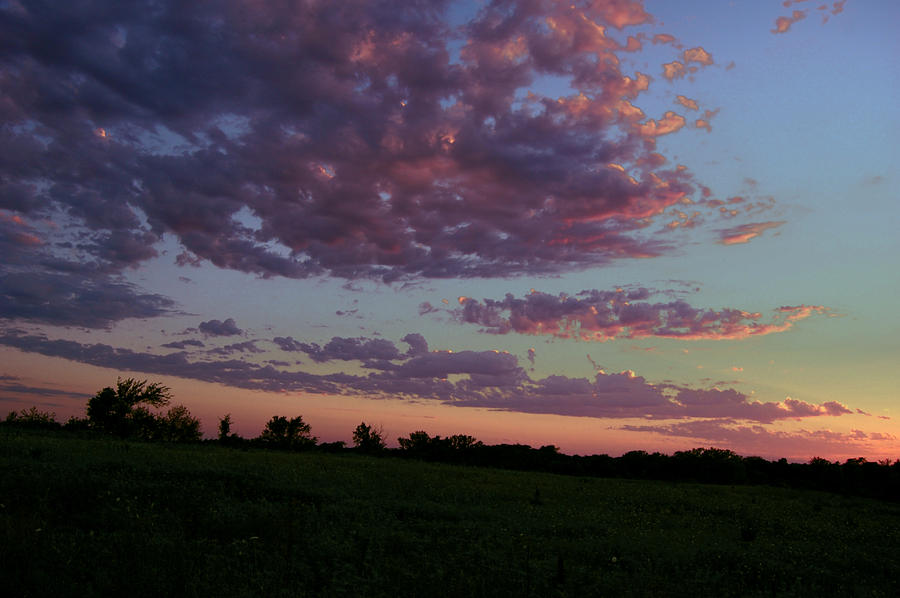 Landscape Photograph - Country Sky by Jame Hayes