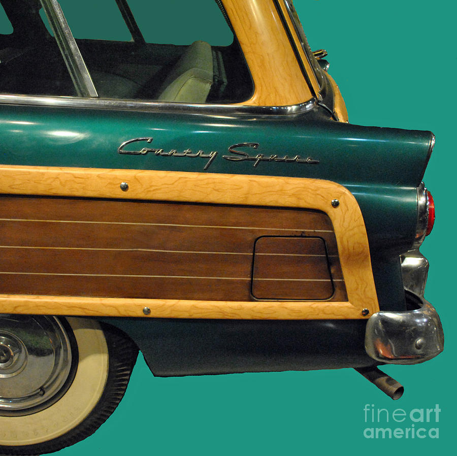 Ford Photograph - Country Squire Wagon by Jost Houk