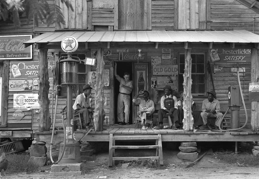 1939 Photograph - Country Store, 1939 by Granger