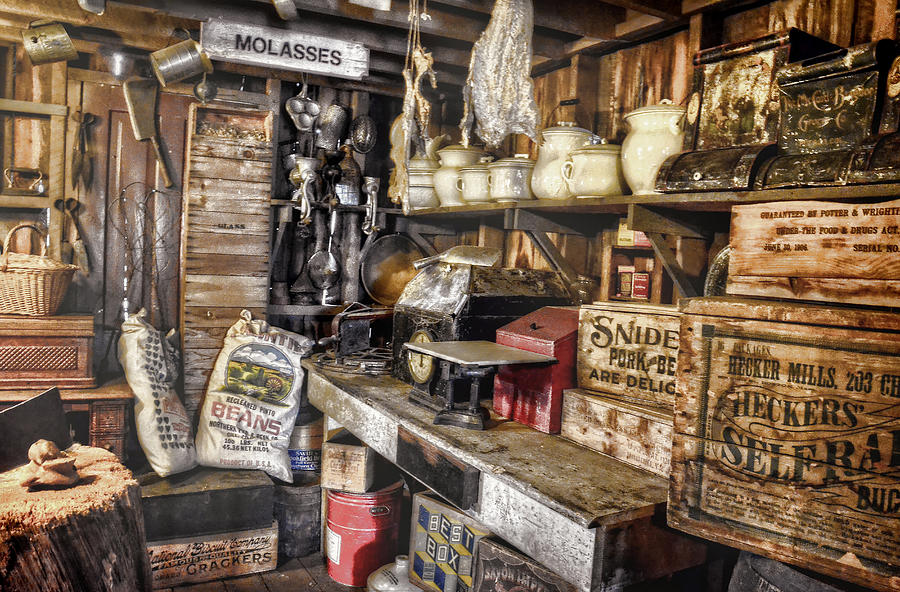 Country Store Photograph - Country Store Supplies by Ken Smith