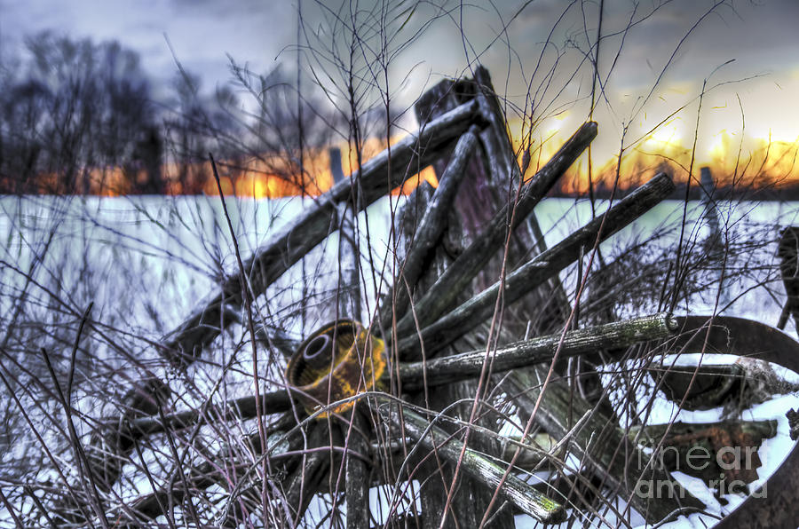 Country Photograph - Country Sunrise by Brenda Giasson