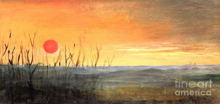 Country Sunset Jo Daviess by Art By Tolpo Collection
