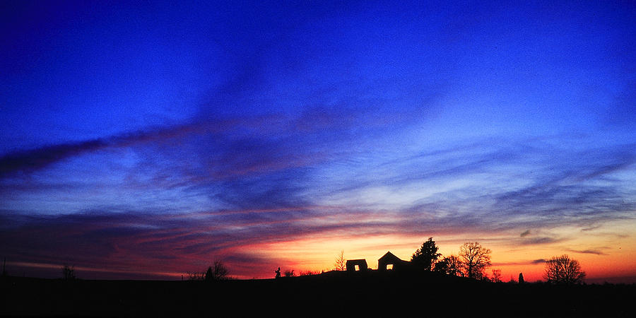 Kentucky Photograph - Country Sunset by Wendell Thompson