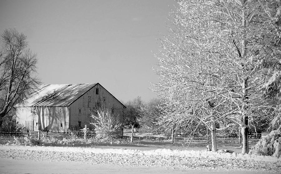 Winter Photograph - Country by Thomas Fouch