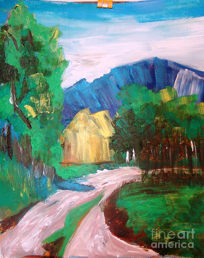 Countryside  Painting by Sonali Singh