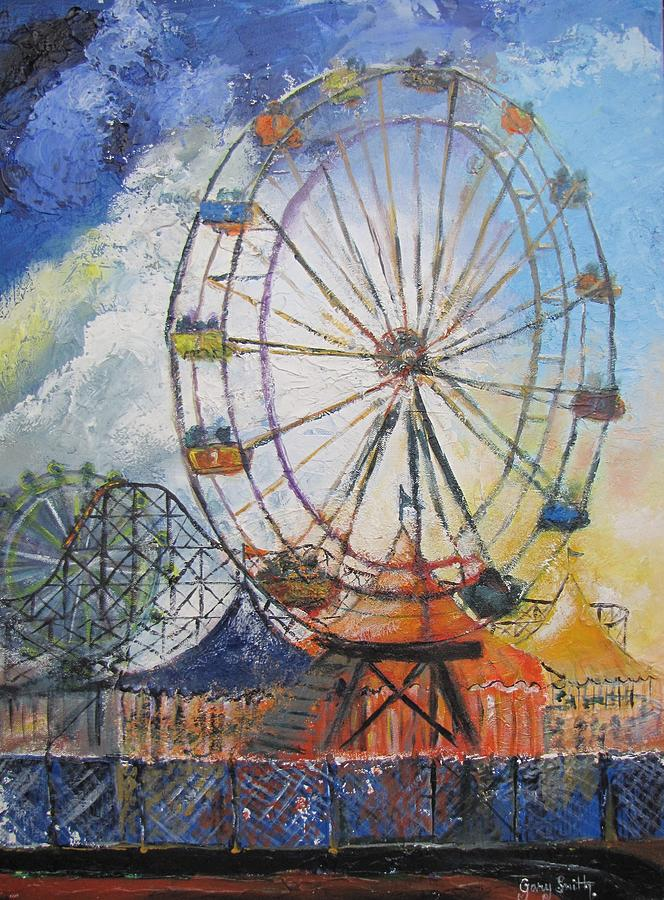 County Fair Painting By Gary Smith