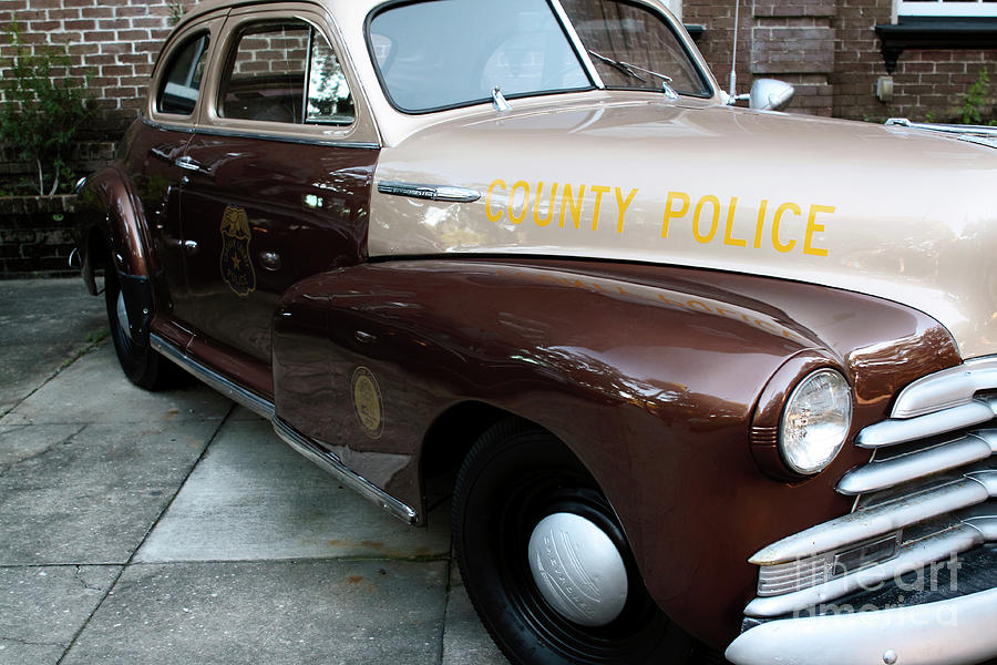 Police Car Photograph - County Police by John Rizzuto