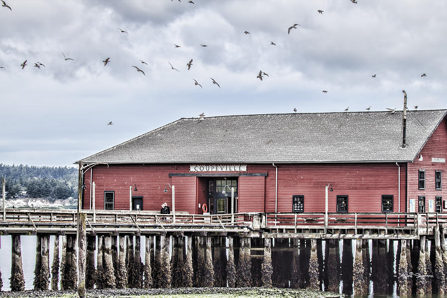 Coupeville Photograph - Coupeville Wharf by Jeff Swanson