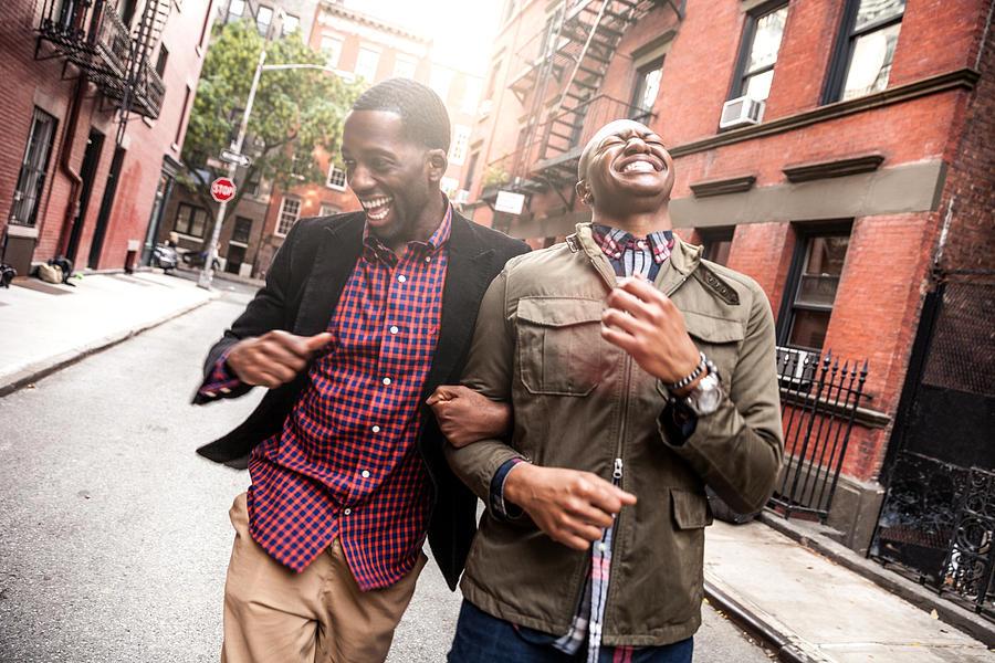 Couple walking in Greenwich Village - NY Photograph by LeoPatrizi