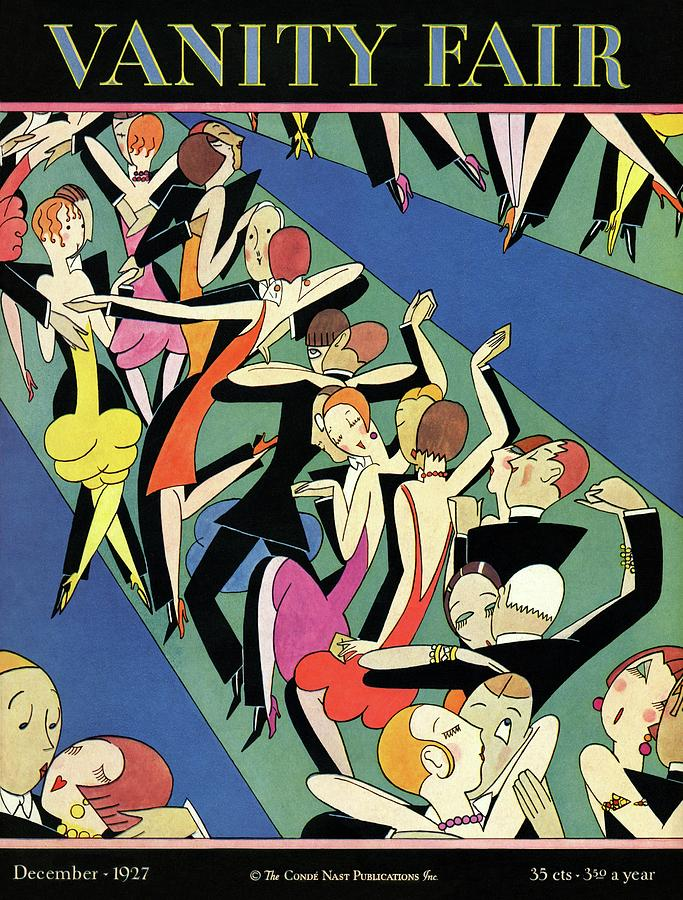 Illustration Photograph - Couples Dancing by A. H. Fish