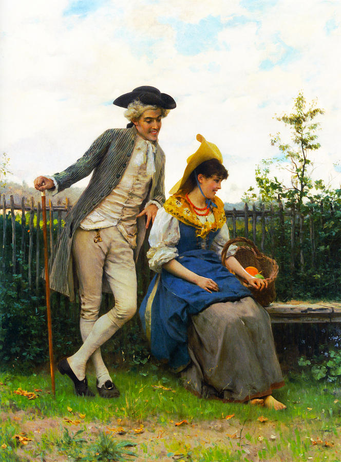 Courtship Photograph - Courtship by Federico Andreotti