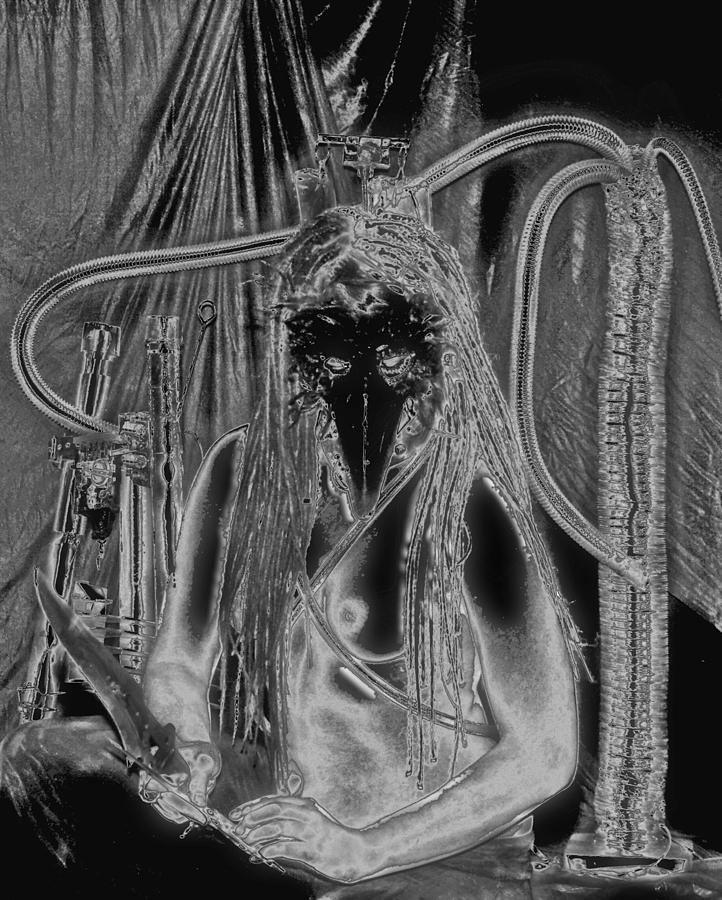 Femme avec les Couteaux 3 by Tarey Potter