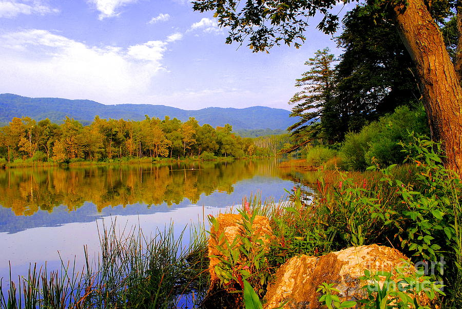Mountains Photograph - Cove Lake State Park  by Frozen in Time Fine Art Photography