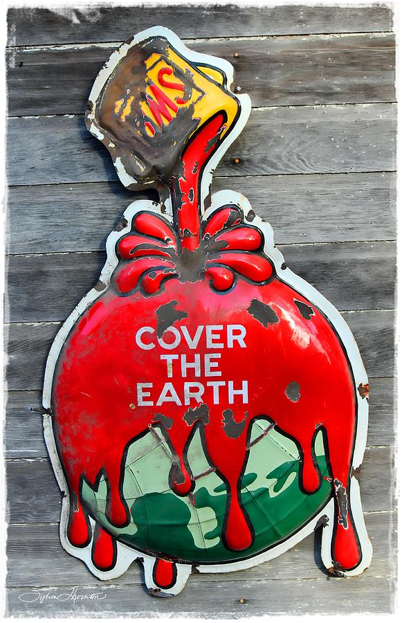 Sherwin Williams Photograph - Cover The Earth by Sylvia Thornton