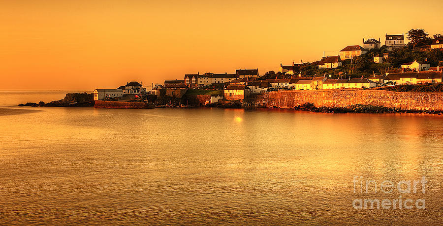 Coverack At Dusk Photograph