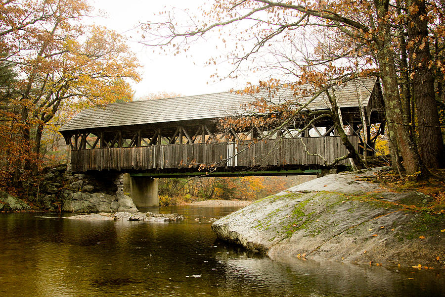 Covered Bridge Photograph - Covered Bridge  by Allan Millora