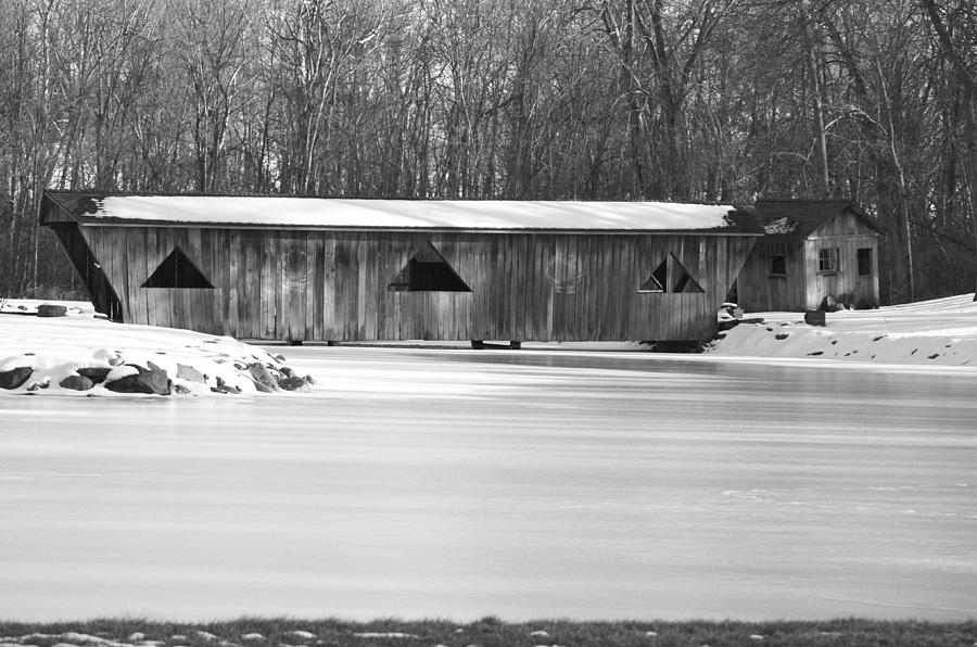 Bridge Photograph - Covered Bridge by Jennifer  King