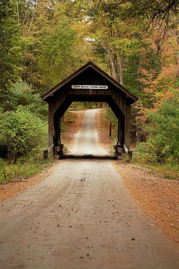 Covered Bridge Photograph by Matt Carr