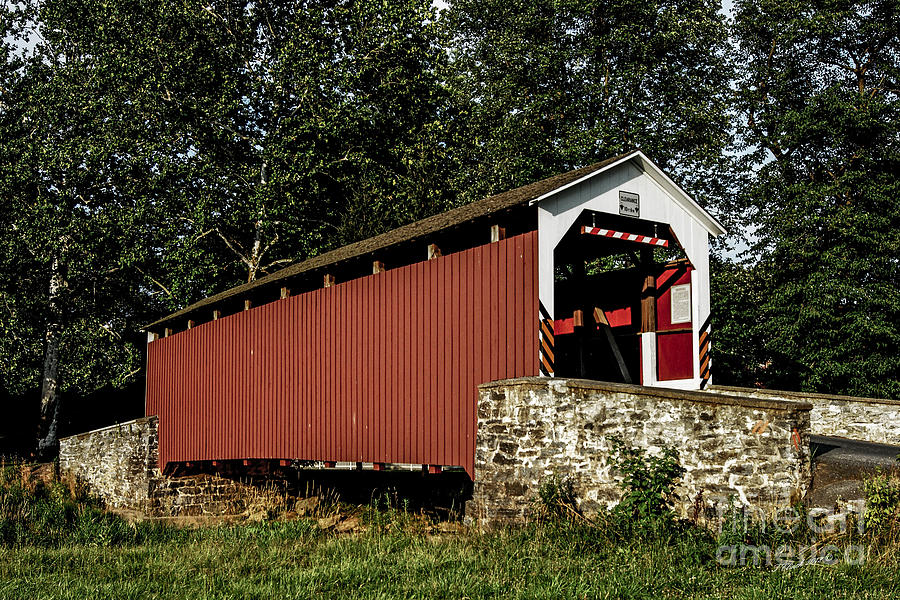Landscape Photograph - Covered Bridge by Timothy Clinch