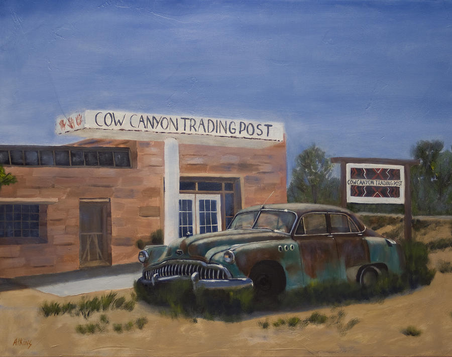 Cow Canyon Trading Post by Jack Atkins