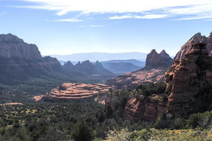 Sedona Photograph - Cow Pie Mesa by Mike Herdering