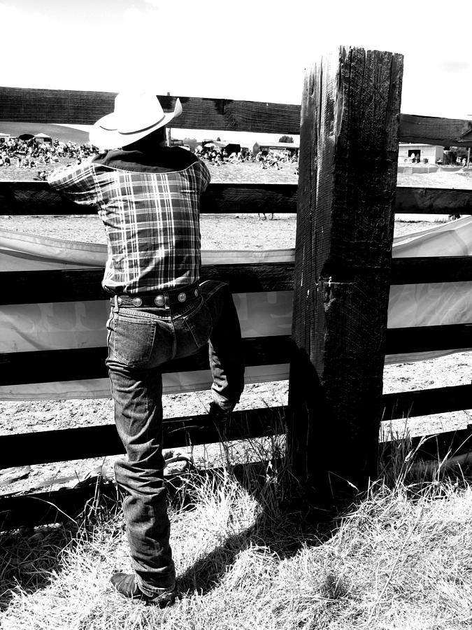 Country And Western Photograph - Cowboy 2 by Amanda Stadther