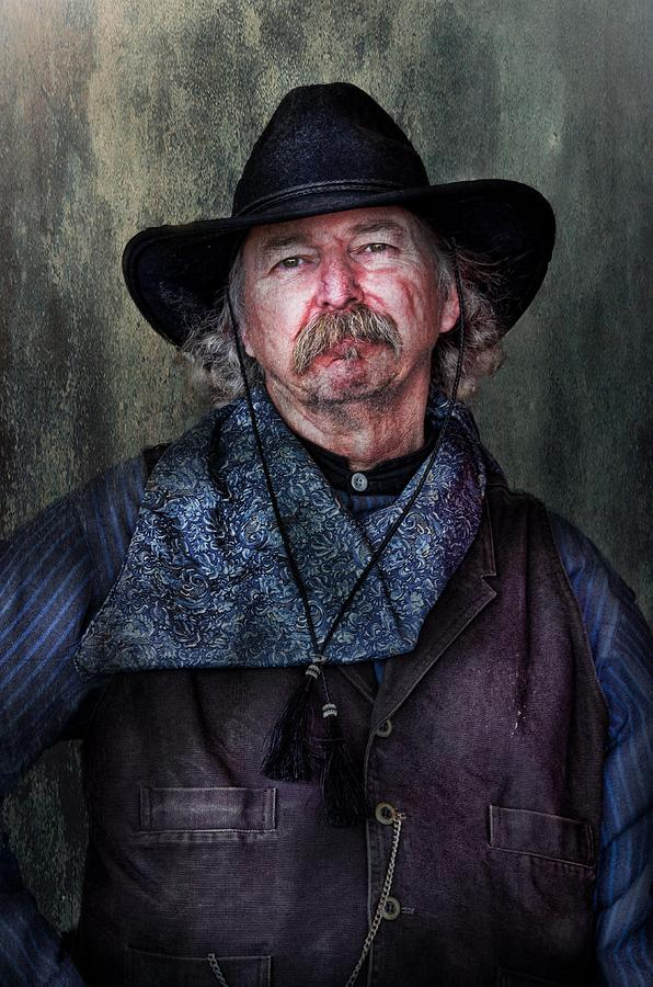 Cowboy Photograph - Cowboy by Barbara Manis