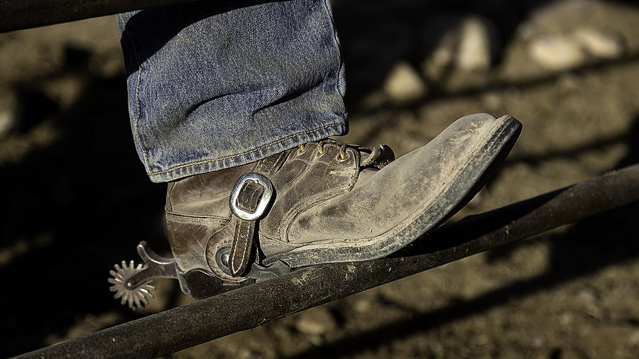 Cowboy Boots And Spurs