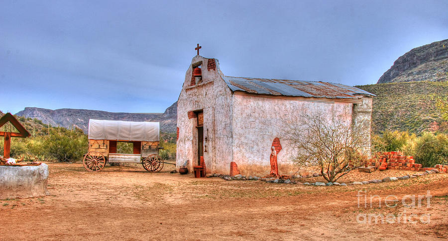 Cowboy Photograph - Cowboy Church by Tap On Photo