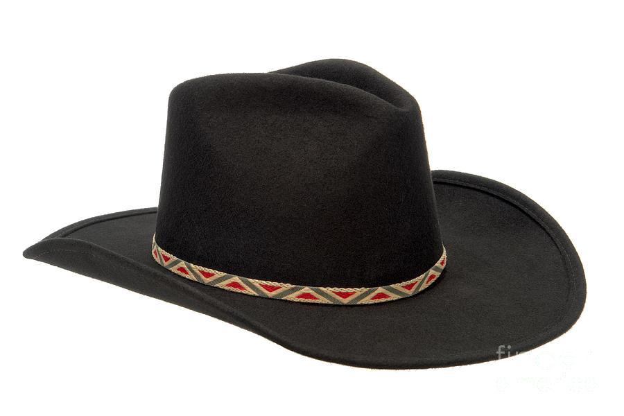 Cowboy Photograph - Cowboy Felt Hat by Olivier Le Queinec
