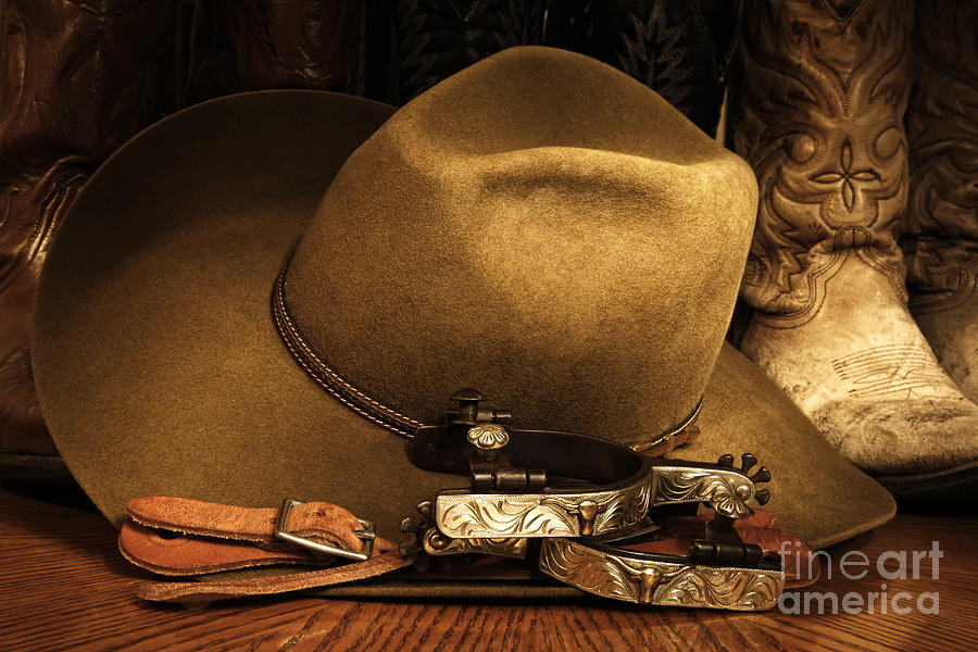 Cowboy Photograph - Cowboy Gear by Lincoln Rogers
