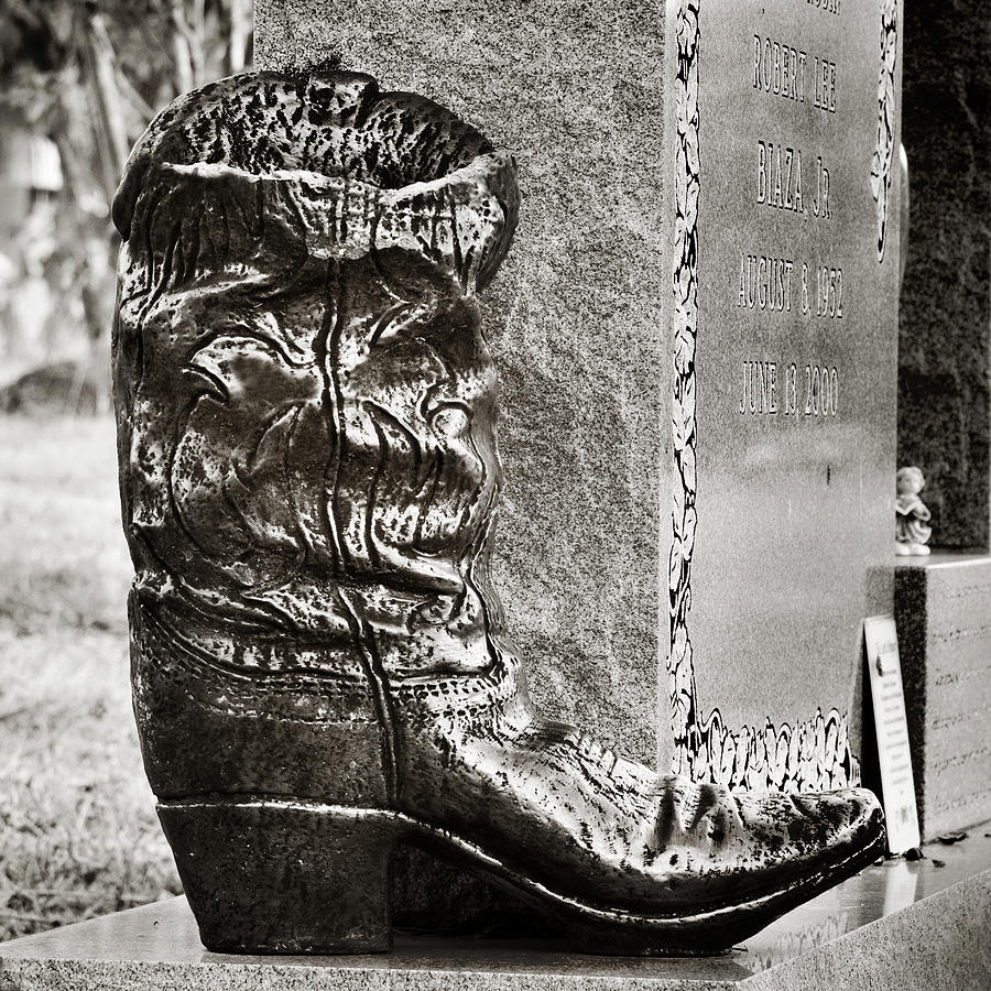 Cowboy Grave Photograph By Angela Bonilla