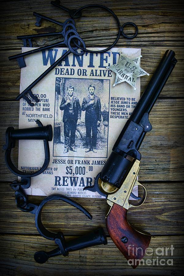 Paul Ward Photograph - Cowboy - Law And Order by Paul Ward