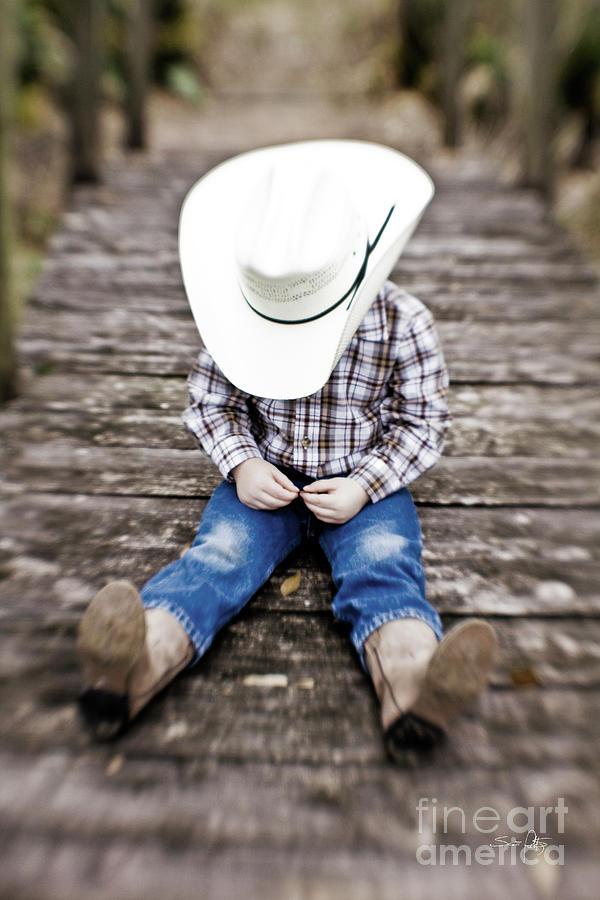 Cowboy Photograph - Cowboy by Scott Pellegrin