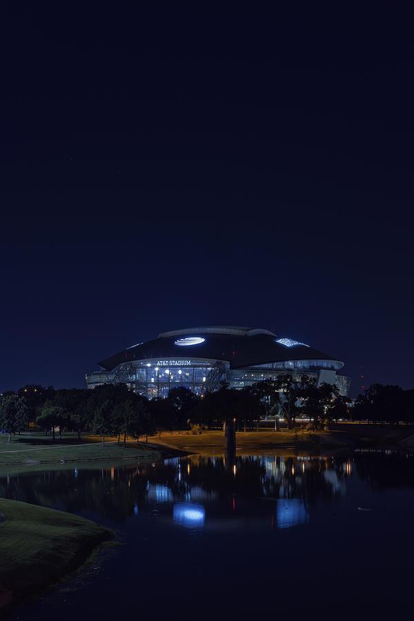 Cowboys Stadium Game Night 2 Photograph