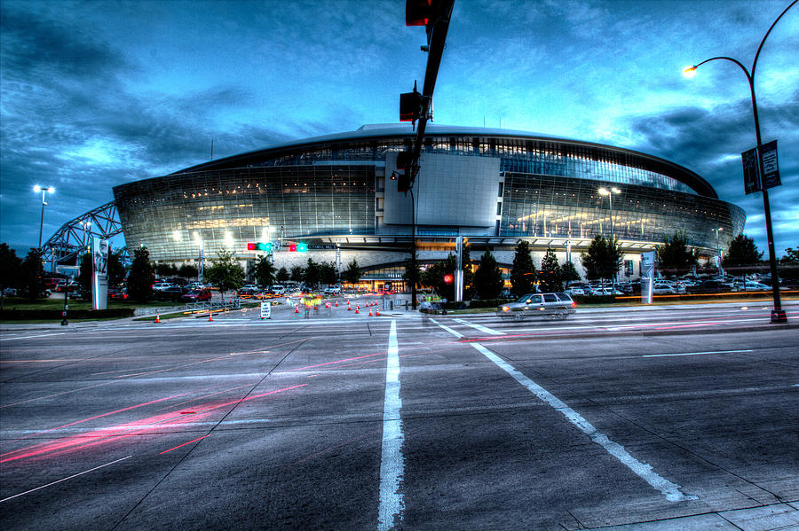 Dallas Cowboys Photograph - Cowboys Stadium pregame by Jonathan Davison