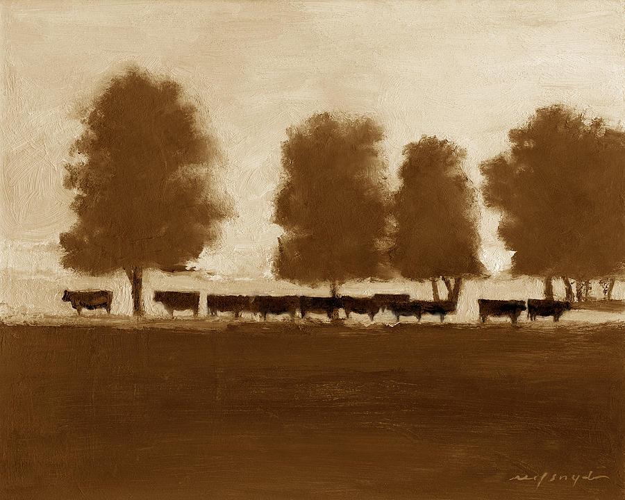 Cowherd by J REIFSNYDER